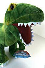 JURASSIC WORLD Dinosaur T Rex Raptor Plush Stuffed Animal Dino Movie Toy w/ Tag
