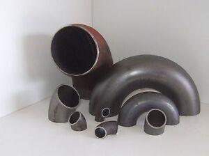 Rohrbogen Stahlrohrbogen Schweißbogen Stahl 45° 90° 180° BA-3  / 3S DIN 2605