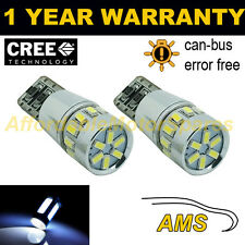 2X W5W T10 501 CANBUS ERROR FREE WHITE 18 SMD LED NUMBER PLATE BULBS NP103102