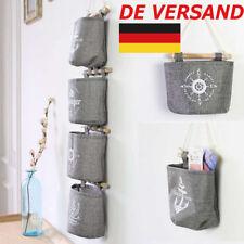 DE 4Stk Organizer Hängeorganizer Hängeaufbewahrung Tasche Beutel Wand Bags ke