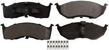 Disc Brake Pad Set-ProSolution Semi-Metallic Brake Pads Front Monroe FX591