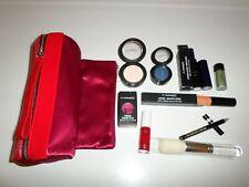 Mac Wholesale Lot 11 Pcs - Shadow Lip Pencil Lipstick Lipglass Pigment Brush Bag