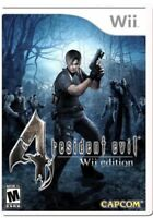 Resident Evil 4 Wii Edition (Nintendo Wii, 2007) - Brand New Factory Sealed