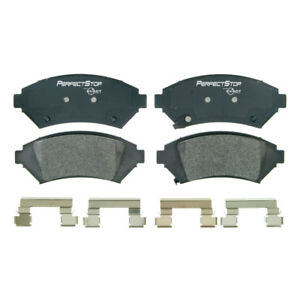 Frt Semi Met Brake Pads  Perfect Stop  PS818M