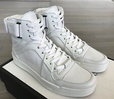 c626c6d700bfae MCM White High Tops Leather SNEAKERS Size US 11 Made in Italy