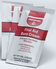 Ten First Aid Burn Cream Pouches, W/Lidocaine And Benzalkonium