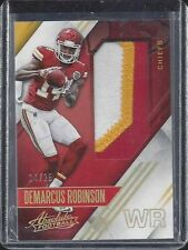 1/1 DEMARCUS ROBINSON 2016 ABSOLUTE JUMBO 3 CLR PATCH RC #D 14/25 HIS JERSEY #14