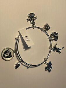 Oakland Raiders Custom Expandable Charm Bracelet NEW #14