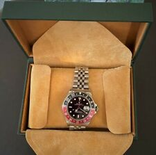Vintage Rolex GMT Master II Oyster Perpetual Date 1997. Original papers, box etc