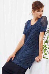 Sweater - Long Yarns Canapa - Modellpaket-Strickpaket With Instructions Size UK