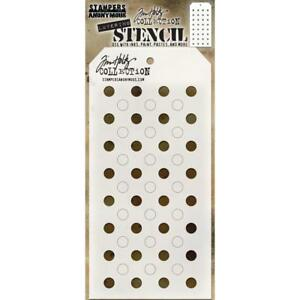 Tim Holtz Layering Stencil ~ SHIFTER DOTS ~ THS109 ~ Stampers Anonymous