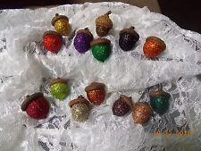 Glitter Accent Acorns, Handmade