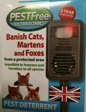 PESTFree ultrasonic - banish cats, martens & foxes from an area. Harmless