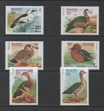 Thematic Stamps Animals - SOMALI REP 1996 DUCKS 6v mint