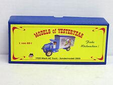 Verpackung Mack AC Truck Weihnachten 2005, OVP, Matchbox Code 2 ?, 1:43 ?, limit