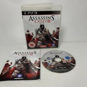 ASSASSIN'S CREED 2 FOR SONY PLAYSTATION 3 (PS3) By UBISOFT VGC, FREE P&P
