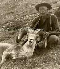 Antique Sheep Hunting Reproduction 8X10 Photograph >> Jack O'Conner