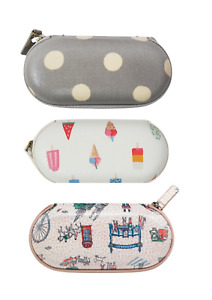Cath Kidston Zipped Around Eye Glasses Case Includes Glasses-Cleaning Cloth