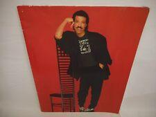 Lionel Richie large 1986 Concert Tour Souvenir Program R&B Pop Soul Motown