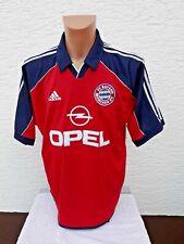 FC Bayern München Trikot adidas 1999-2001 L Home Jersey Shirt Camisola Heim Opel