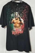Vintage WWF Rey Mysterio T Shirt Size 2XL Early 2000's Mexico Wrestling