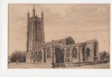 Wells St Cuthberts Church Vintage Postcard 635a