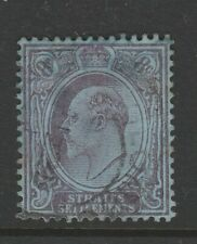 STRAITS SETTLEMENTS 1904 8c KEVII SG 126 FU