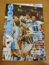 03/10/1998 Coventry City v Aston Villa  (Worn). Thanks for viewing this item, bu
