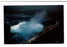 Postcard: Horseshoe Falls, White Illuminations, Niagra, Canada