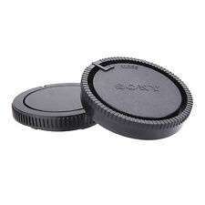 Camera Front Body Cap + Rear Lens Cover Protector fr Sony AF Mount a450 a300 a77