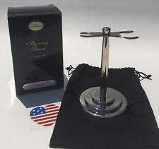 NEW The ART of SHAVING Luxury STAND For Brush & Razor Nickel DISCONTINUED HTF