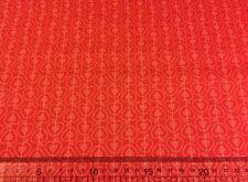 Riley Blake Apple of My Eye Designer Fabric C2894 ROSSO 100% Cotone Fat Quarter