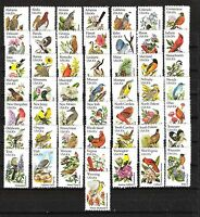 Sc 1953-2002 STATE BIRDS and FLOWERS U.S. MINT Stamp Singles SET of 50 MNH