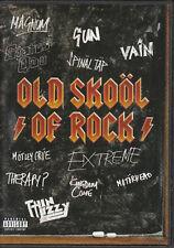 OLD SKOOL OF ROCK Extreme TESLA Rainbow MOTORHEAD Motley Crue 20 VIDEOS @NEW DVD