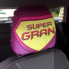 Verkauf Autositz Kopfstützen Bezüge 2er Pack Super Gran pink