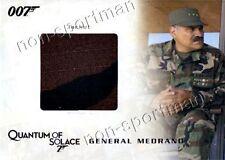 JAMES BOND COSTUME CARD QC06 GENERAL MEDRANO'S JACKET
