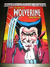 Best of Wolverine Vol 1 Hardcover! HUGE!! Pristine MINT 1st Print HC! 10 Pix!!