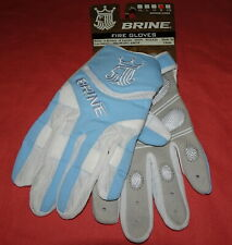 New = Brine Fire Gloves = LaCrosse Glove = Blue & White = Small = Wglf2Cars