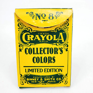 Vintage 1991 CRAYOLA Collector's Box No 8 Limited edition 8  Retired colors Used