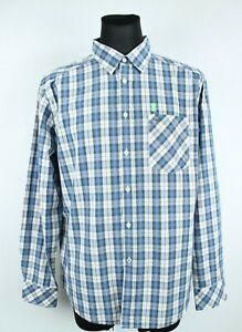 MUSTANG BNWT Multicolored Plaid Regular Fit Long Sleeve Men Shirt Size EU XL