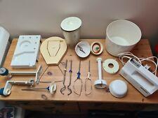 More details for vintage retro aka rg25 electric mixer blender & loads accessories