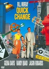 Quick Change 0085393963125 With Bill Murray DVD Region 1
