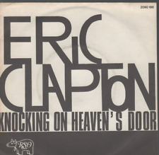 """Eric Clapton Knocking On Heaven's Door 45T 7"""" inch french pressing 2090 166"""