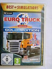 Vintage 2009 Euro Truck Simulator Computerspiel Game Spiel mit Szenerie England