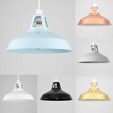 Modern 31cm Industrial Ceiling Pendant Light Shade Kitchen Lampshade + LED Bulb