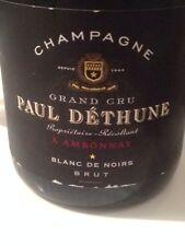 6 BT. CHAMPAGNE BRUT GRAND CRU Ambonnay BLANC DE NOIRS PAUL DETHUNE