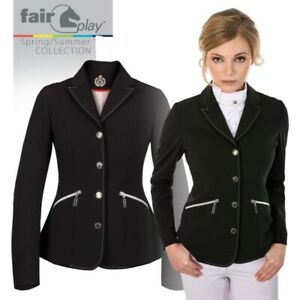 Brand New Fair Play Cesaria  Show/Competition Jacket in Black      EU38/UK10/US8