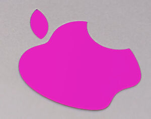 """Hot Pink Color Changer Logo Overlay for the new Apple Retina 12"""" Macbook Sticker"""
