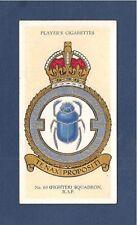 No 64 SQUADRON RFC Fighter Squadron RAF BADGE formed 1916 SEDGEFORD 1937 card