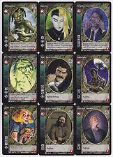 Tzimisce Small/Mid Cap Crypt Lot G4/G5 9x Vampires 3rd Ed/LoB/Gehenna V:TES VTES